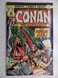 CONAN THE BARBARIAN # 50 MARVEL SUB CREASE