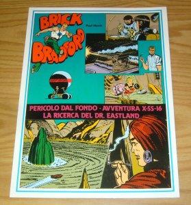 Brick Bradford #126 VF italian treasury - daily strips - comic art foreign
