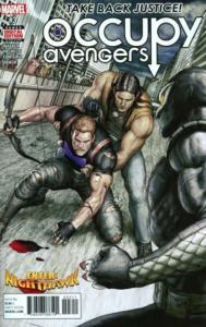 Occupy Avengers #3, NM (Stock photo)