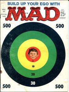 MAD MAGAZINE #71-1962-ALFRED E. NEUMAN-TARGET COVER G