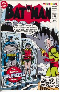 Batman #121 1997-DC-Toys 'R' Us giveaway-1st Mr Freeze-NM