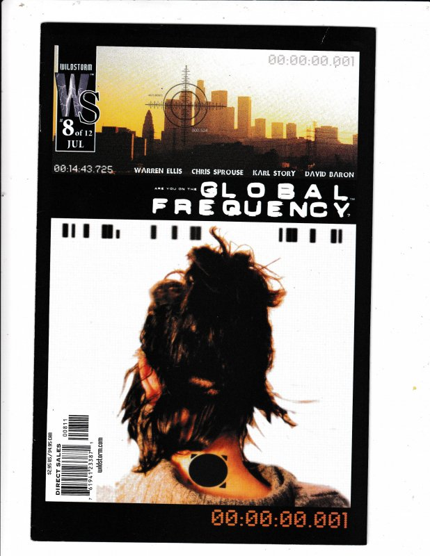 GLOBAL FREQUENCY#8  FN/VF   WILDSTORM COMICS Save on shipping