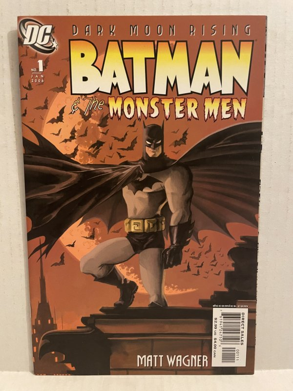 Batman and the Monster Men #1 (2006) Unlimited Combined Shipping On All Store...