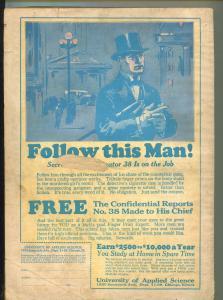 AMAZING STORIES NOVEMBER 1926-H.G.WELLS-MURRAY LEINSTER-G/VG