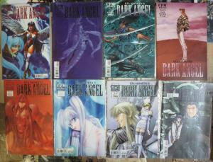Kia Asamiya's Dark Angel #1-29 Lot of 15Diff Manga Sword Sorcery & Angel Babes!