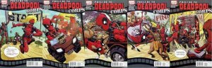 PRELUDE TO DEADPOOL CORPS (2010) 1-5  COMPLETE!