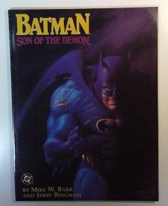 DC Comics Batman Son of the Demon NM 1987 1st. Appearance Damian Wayne TPB Comic