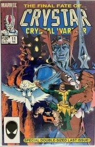 Crystar (last issue) #11 DIR 8.0 VF (1985)