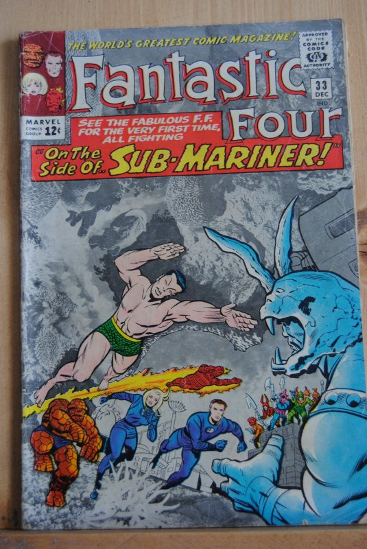Fantastic Four #33, Sub-Mariner