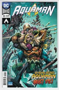 AQUAMAN (2016 DC) #35