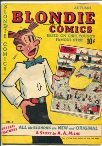 Blondie #5 1948-David McKay-A.A. Milne story-Chic Young art-G-