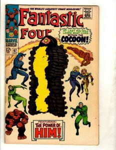 Fantastic Four # 67 VF- Marvel Comic Book Silver Age Thing Human Torch Doom GK1