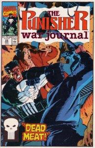 Punisher War Journal   vol. 1   #28 VG/FN
