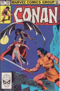 Conan the Barbarian #147 VF/NM; Marvel   save on shipping - details inside