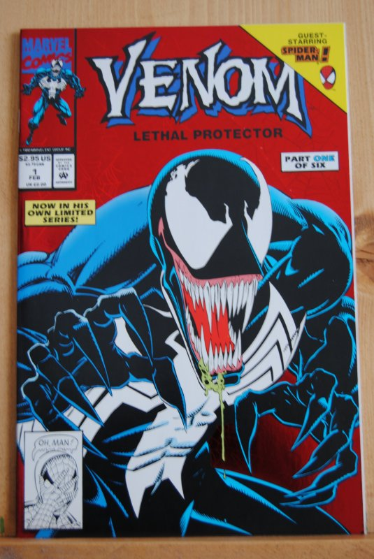 Venom #1 1992 High Grade, Key Book, 1st Solo Venom