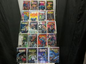BATMAN KNIGHTFALL PARTS 1-19 Spectacular Batman story