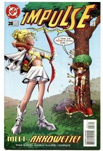 Impulse #28-1997-DC-First appearance of ARROWETTE