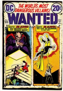 WANTED (1972)  7 VG-F April 1973  Hourman, Johnny Quick