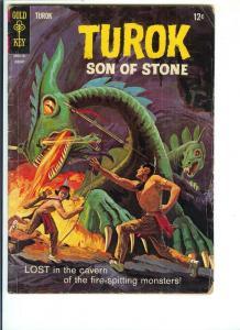 Turok, Son of Stone #55 - Silver Age - (FN) Jan., 1967