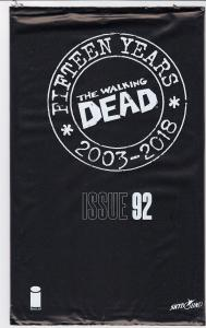 WALKING DEAD #92 BLIND BAG VARIANT SEALED WD Day 15th Anniversary