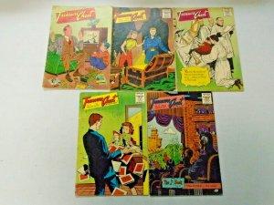 Golden Age Treasure Chest Comic Lot 5 Different Average 4.0 VG (1957-1959)