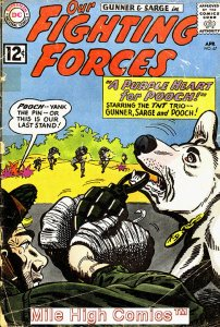 OUR FIGHTING FORCES (1954 Series) #67 Very Good Comics Book
