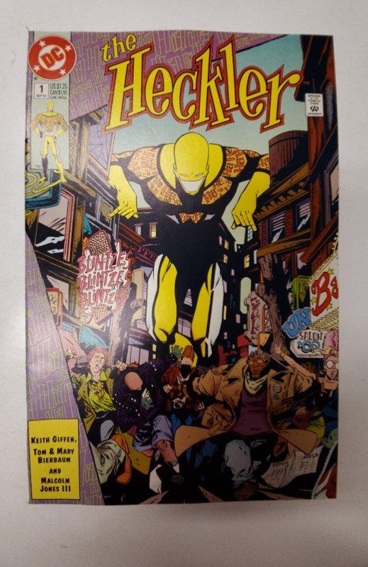 The Heckler #1 (1992) NM DC Comic Book J667
