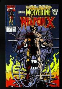 Marvel Comics Presents (1988 series) #72, NM- (Actual scan)