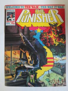 The Punisher (Marvel UK August 26 1989) #4 Final Solution + Welcolme to the 'Nam