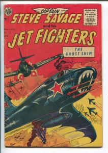 CAPTAIN STEVE SAVAGE #13 1956-AVON-KOREAN WAR-AVIATION THRILLS-KINSTLER-fn