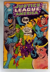Justice League of America #66 (Nov-68) FN/VF+ High-Grade Justice League of Am...