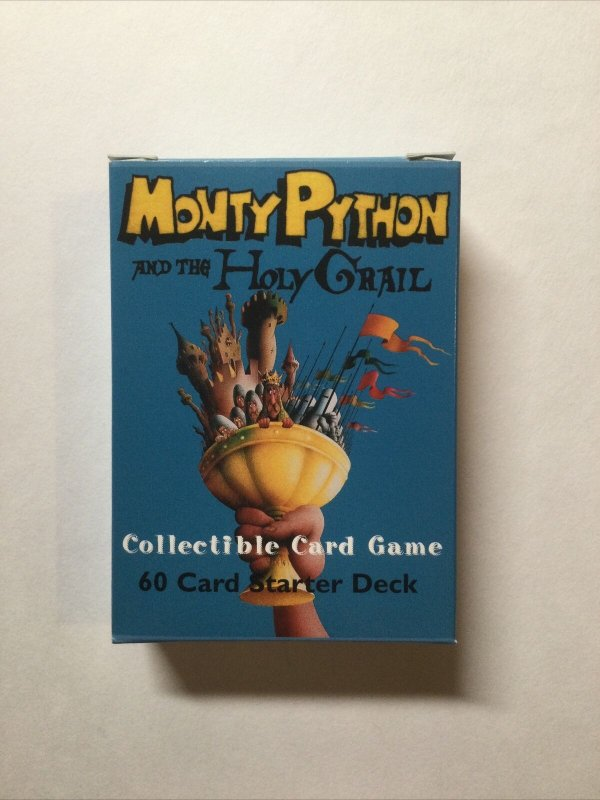 Monty Python And The Holy Grail Card Game 60 Card Starter Deck Opened 1996