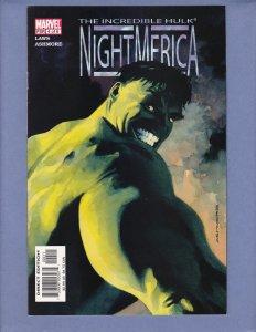 Incredible Hulk Nightmerica #4 NM- Marvel 2003