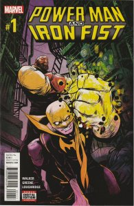 POWER MAN AND IRON FIST # 1 (2016)