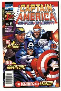 Captain America Sentinel of Liberty #1-1998-comic book-First issue