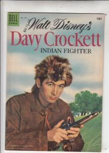 Four Color #631 (May-55) FN/VF+ High-Grade Davy Crockett