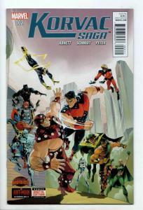 Korvac Saga #2 (Marvel, 2015) VF-
