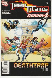 Teen Titans(2003) Annual # 1  X-vr with Deathstroke and Titans !