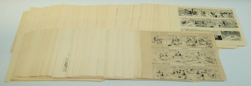 Mickey Mouse by Walt Disney newspaper strip reproductions 205 pages