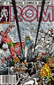 Rom (1979 series) #35, VF+ (Stock photo)