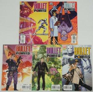 Bullet Points #1-5 FN/VF complete series - j. michael straczynski - galactus set