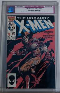 X-MEN #212, 3PG / CGC 97 NM+, Wolverine vs Sabretooth, Claws, more in store