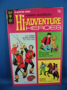 HI ADVENTURE HEROES 1 F VF FIRST ISSUE HANNA BARBERA 1964