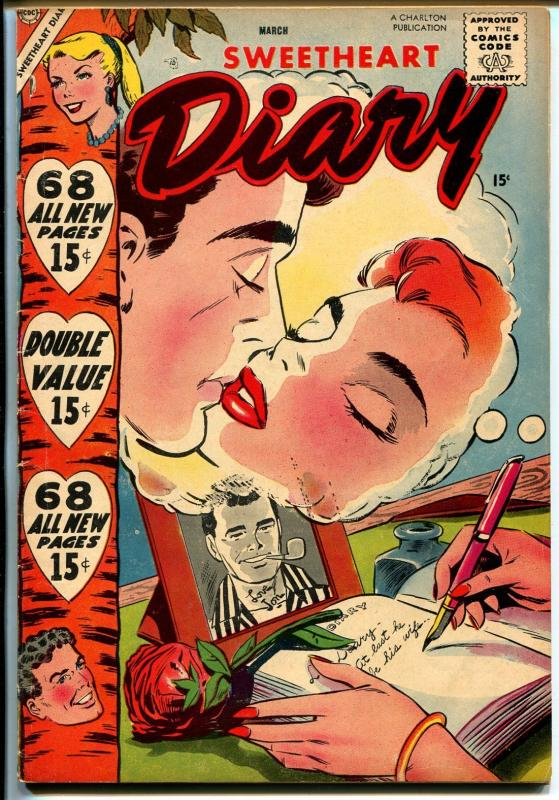 Sweetheart Diary #41 1958-Charlton-68 pages-John Severin-FN-