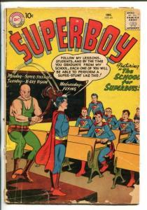 SUPERBOY #61-1957-DC-BARGAIN COPY-good minus