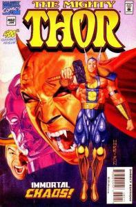 Thor (1966 series) #482, VF (Stock photo)