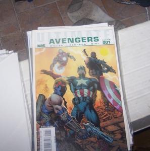 ultimate avengers  # 1+ ultimate avengers 3 # 1+ 2 mark millar  blade+vampires
