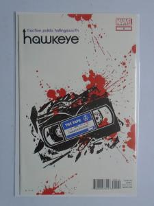 Hawkeye (4th Series) #5A, 8.5/VF+ (1st Print) (2013) The Tape