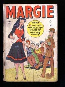 Margie Comics #45 FA/GD 1.5