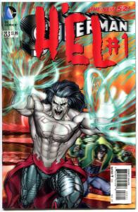 SUPERMAN #23.3, NM, Hel, 3-D Lenticular cover, more DC in store